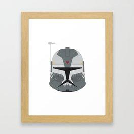 Commander Wolffe phase 1 head version 1 Framed Art Print