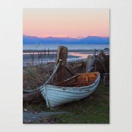 Magical boat Canvas Print
