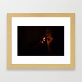 Fuego Framed Art Print
