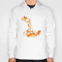 physics Hoodies featuring Liquid Physics Corgis by Anya McNaughton