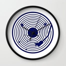 Solar disk Wall Clock