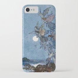"""Elves"" Fairy Tale Art by Edmund Dulac iPhone Case"