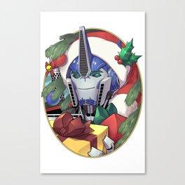 Yuletide Robodad Canvas Print