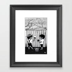 Mark Twain Tribute Framed Art Print