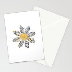 Mosaic Flower 002 Stationery Cards