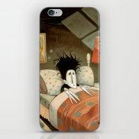 edward scissorhands iPhone & iPod Skins featuring Edward Scissorhands by Daniela Volpari