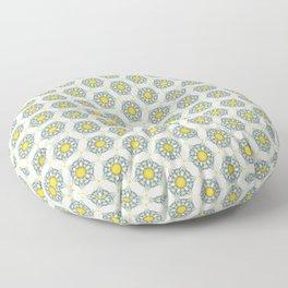 Illustrusion IV - All of My Pattern Based on My Fashion Arts Floor Pillow