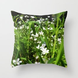Spring Beauty 13 Throw Pillow