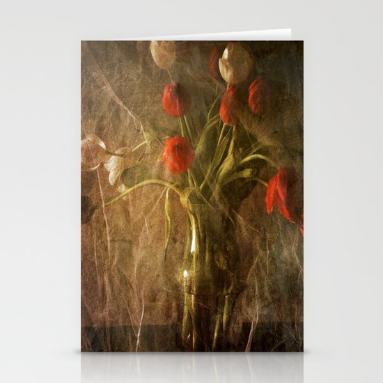 Vase with Tulips Stationery Cards