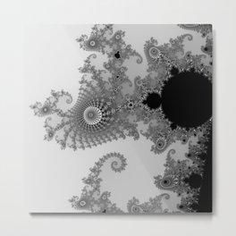 males mandelbrot abstract Metal Print