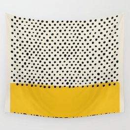 All Yellow Wall Tapestry