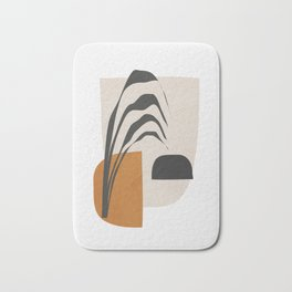 Abstract Shapes 3 Bath Mat