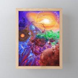 Engines of human life. Framed Mini Art Print