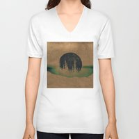 oasis V-neck T-shirts featuring oasis? by KrisLeov