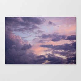A Night in Toronto. Canvas Print