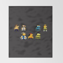 Choose Your Fighter Throw Blanket