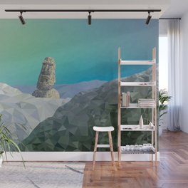 This is Not Easter Island Wall Mural