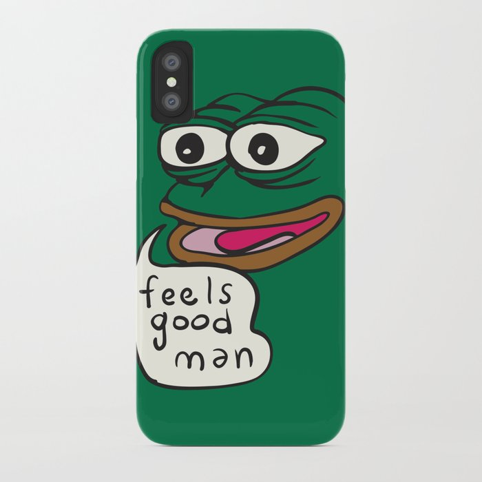 Superior Feels Good Man   Pepe The Frog IPhone Case