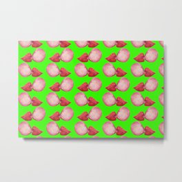 bubblegum lips Metal Print