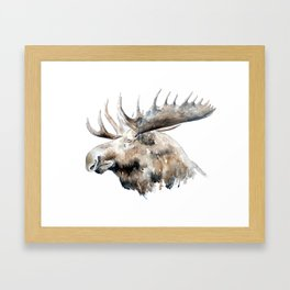 The King of the Forest Framed Art Print