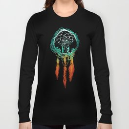 Dream Catcher (the rustic magic) Long Sleeve T-shirt
