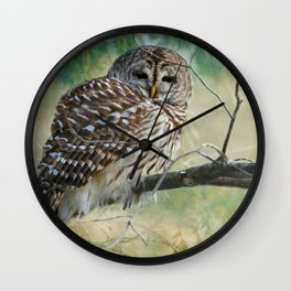 Listen a hundred times. Ponder a thousand times. Speak once. Wall Clock