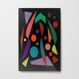 Abstract #306 String Trio Metal Print