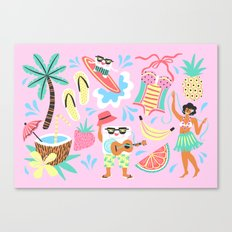 CocoFloss  Canvas Print
