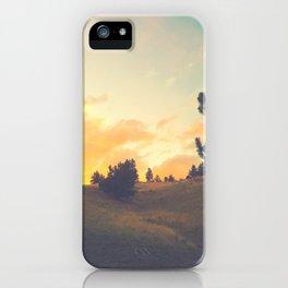 falling through a field iPhone Case