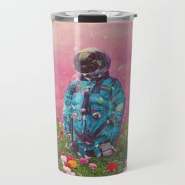 The Flower Field Travel Mug