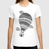 baloon T-shirts featuring Hot Air Baloon by Fill Design by mervegokdere