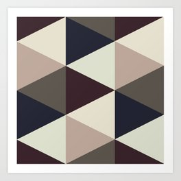 Triangle Sundae Art Print
