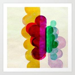 cloud 1 Art Print