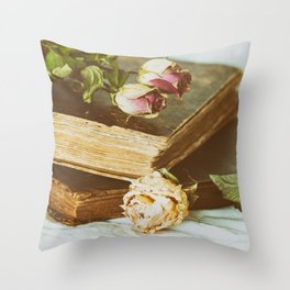 Timeworn Beauty 2 Throw Pillow
