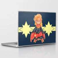 captain Laptop & iPad Skins featuring captain by cynamon