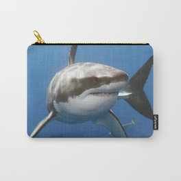 Shark in the Ocean - Wilderness - Sharkweek Carry-All Pouch