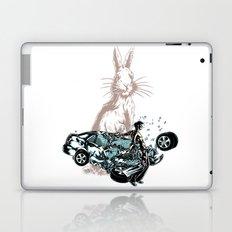 Rabbit In Your Headlights Laptop & iPad Skin