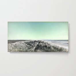 Escape, Oregon coast, sand dunes Metal Print