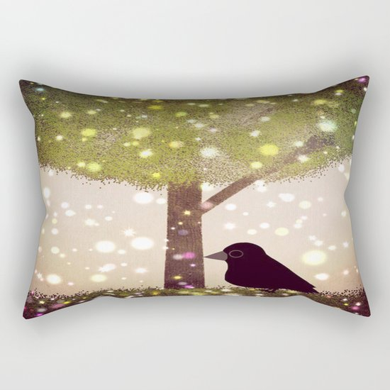 crow-50 Rectangular Pillow