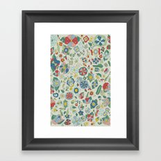 Frutos Framed Art Print