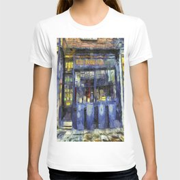 Ye Old Shambles Tavern York Art T-shirt