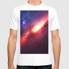 Into the shine White Mens Fitted Tee MEDIUM
