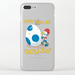 Billy Hatcher - They See Me Rollin' Clear iPhone Case