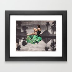 JADE Framed Art Print
