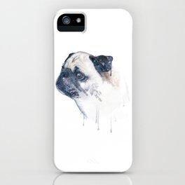 Pug Forest iPhone Case