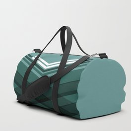 Blue Stripes Duffle Bag