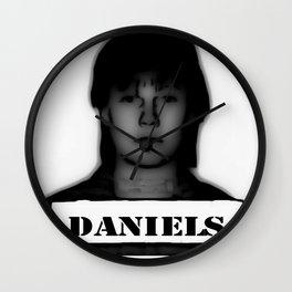 DANIELS Wall Clock