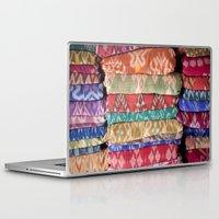 bali Laptop & iPad Skins featuring bali ikat by TARYN KENT