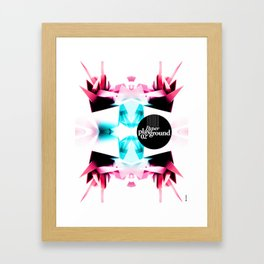 Paper Playground 02 Framed Art Print