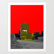 Empty (scene14) Art Print